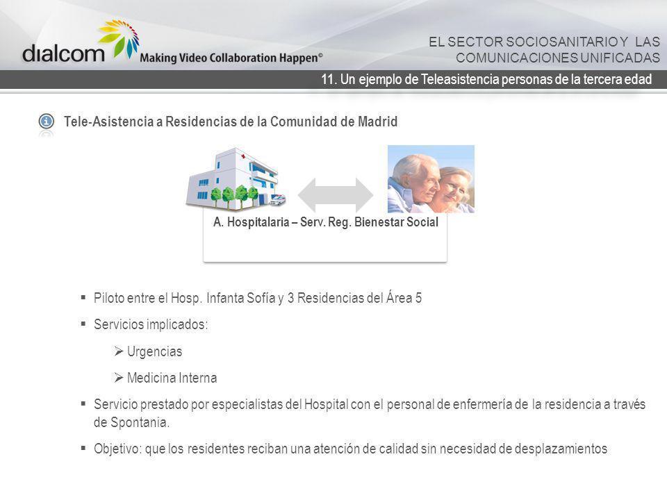 A. Hospitalaria – Serv. Reg. Bienestar Social