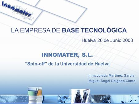 """Spin-off"" de la Universidad de Huelva"