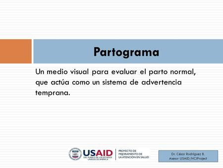 Asesor USAID/HCIProject
