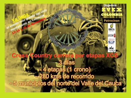 Cross Country carrera por etapas XCS