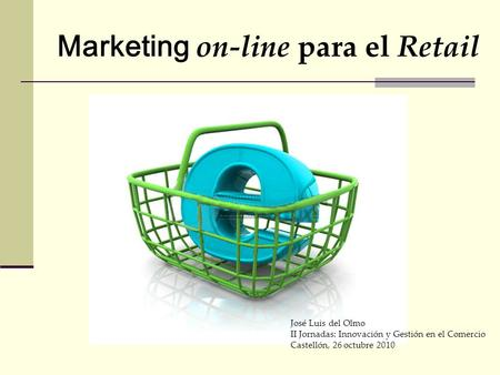 Marketing on-line para el Retail