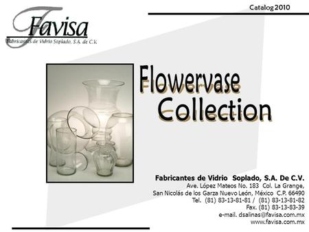 Flowervase Collection