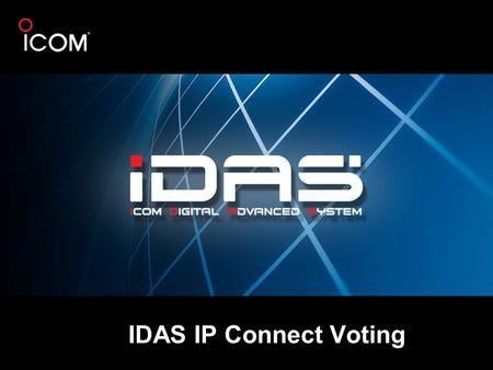 IDAS IP Connect Voting.