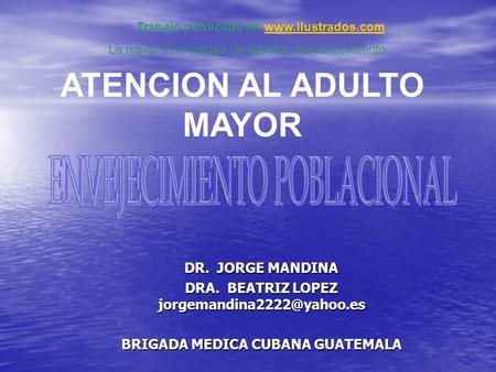 ATENCION AL ADULTO MAYOR