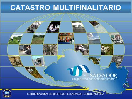 CATASTRO MULTIFINALITARIO