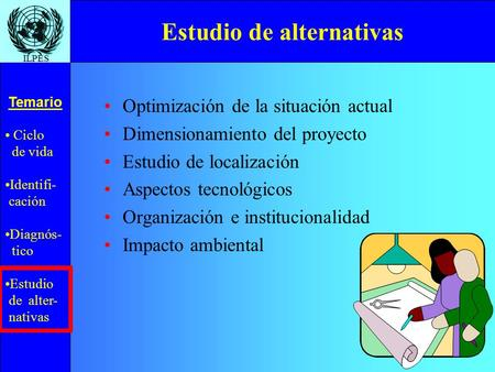 Estudio de alternativas