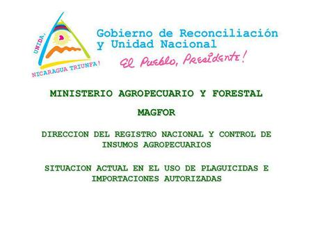 MINISTERIO AGROPECUARIO Y FORESTAL MAGFOR