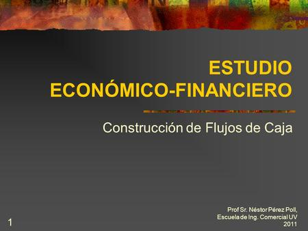 ESTUDIO ECONÓMICO-FINANCIERO