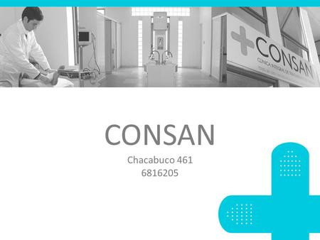 CONSAN Chacabuco 461 6816205.