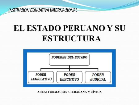 Características Del Estado Peruano Ppt Video Online Descargar