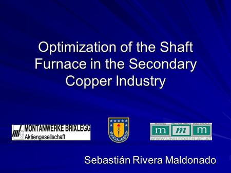 Optimization of the Shaft Furnace in the Secondary Copper Industry