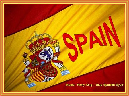 "Music: ""Ricky King – Blue Spanish Eyes"" Escorial Monastery, Madrid."