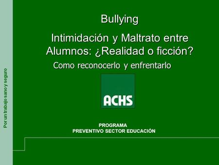 PREVENTIVO SECTOR EDUCACIÓN
