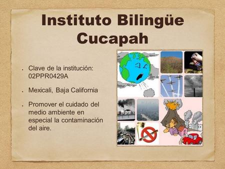 Instituto Bilingüe Cucapah