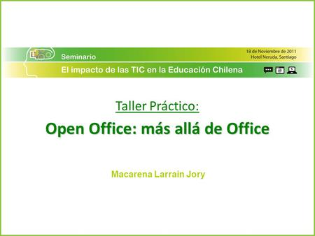 Open Office: más allá de Office
