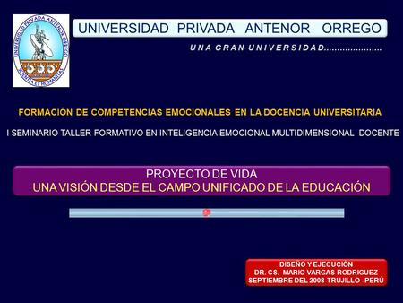 UNIVERSIDAD PRIVADA ANTENOR ORREGO