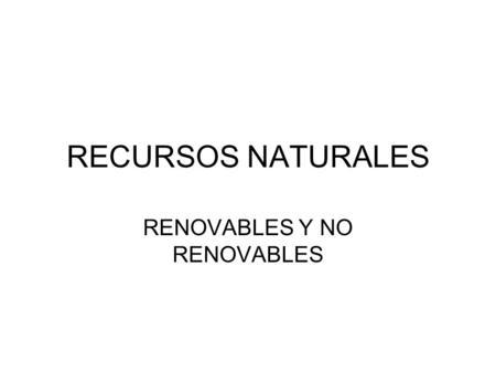 Agotamiento De Los Recursos Naturales Ppt Descargar