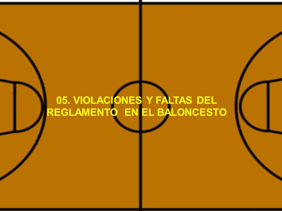 05 Violaciones Y Faltas Del Reglamento En El Baloncesto Ppt Video Online Descargar