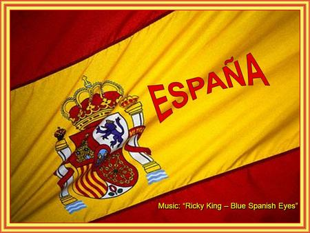 "Music: ""Ricky King – Blue Spanish Eyes"" Monastério Escorial - Madrid."