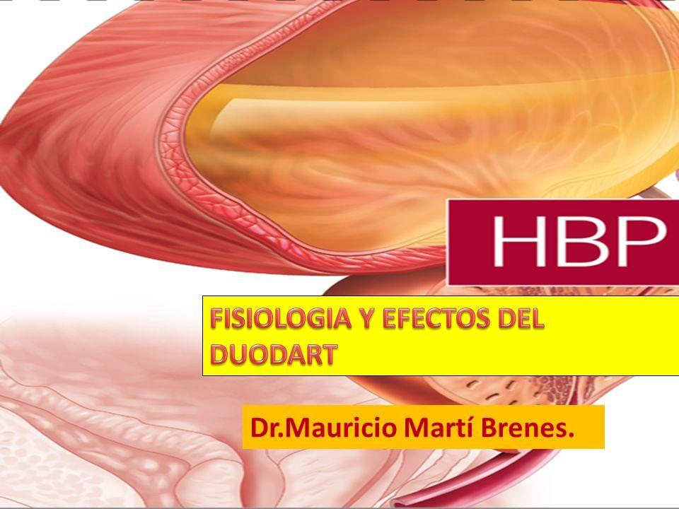 Hbp Fisiologia Y Efectos Del Duodart Dr Mauricio Marti Brenes Ppt Descargar