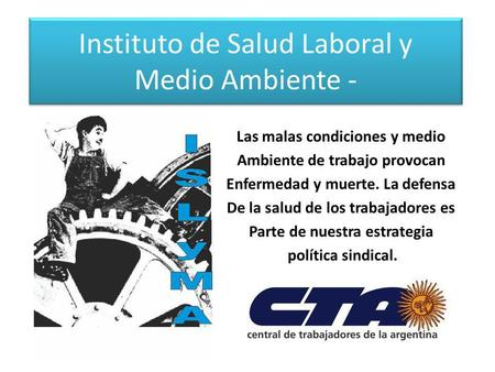 Instituto de Salud Laboral y Medio Ambiente -