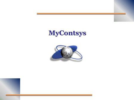 MyContsys.