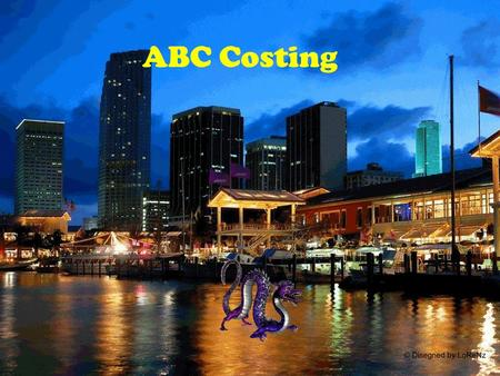 ABC Costing. importancia.