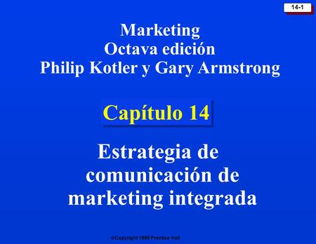 Estrategia de comunicación de marketing integrada