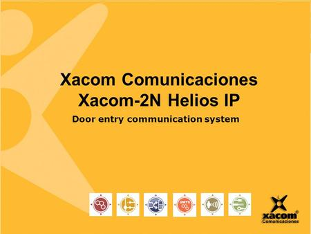 Www.2n.cz Xacom Comunicaciones Xacom-2N Helios IP Door entry communication system.