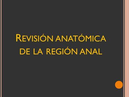 CONCEPTOS ACTUALES EN EL TRATAMIENTO DE LA FISTULA ANAL - ppt video ...