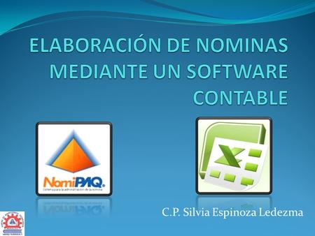 ELABORACIÓN DE NOMINAS MEDIANTE UN SOFTWARE CONTABLE