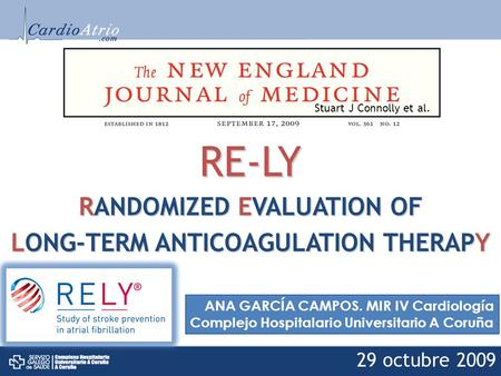 RANDOMIZED EVALUATION OF LONG-TERM ANTICOAGULATION THERAPY