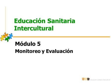 Educación Sanitaria Intercultural