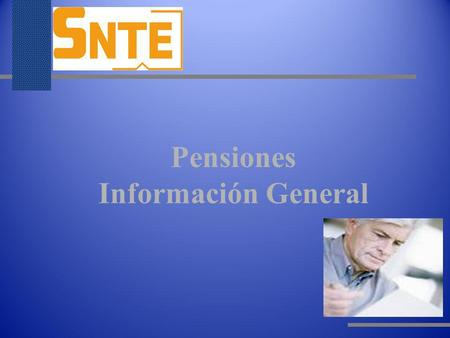 Pensiones Información General