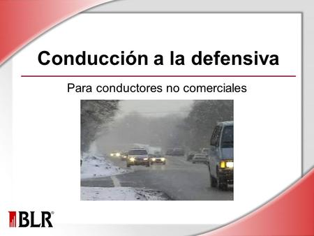 Conducción a la defensiva