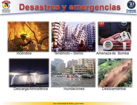 Desastres y emergencias