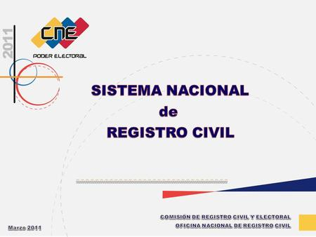 de REGISTRO CIVIL SISTEMA NACIONAL