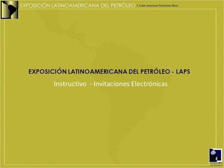 Instructivo - Invitaciones Electrónicas