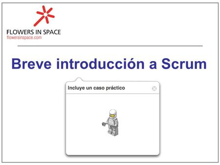 Breve introducción a Scrum