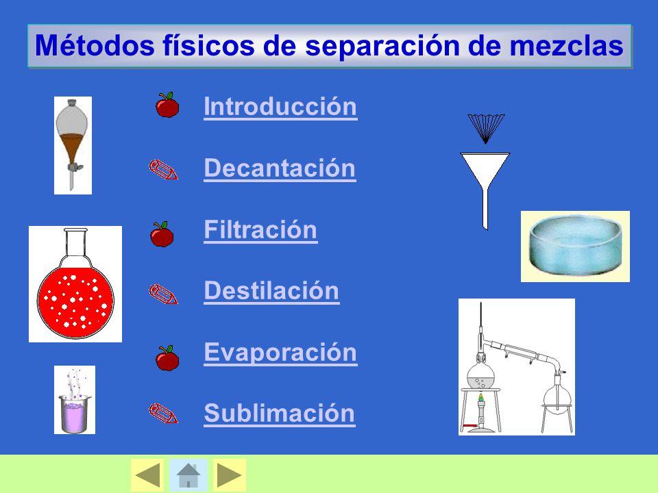 Métodos Físicos De Separación De Mezclas Ppt Video Online Descargar