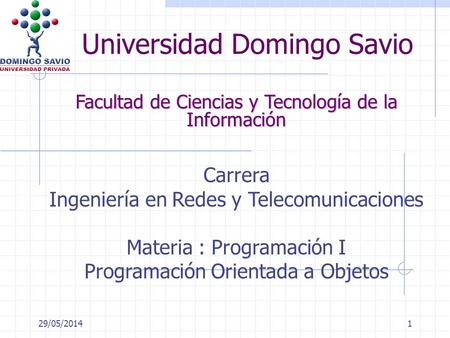 Universidad Domingo Savio