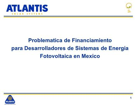 Problematica de Financiamiento