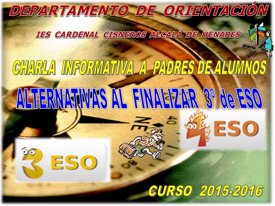 Departamento De Orientación Ies Cardenal Cisneros Alcalá De Henares Ppt Descargar