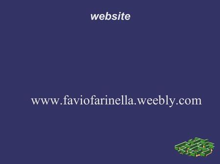 Website www.faviofarinella.weebly.com.