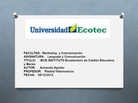 FACULTAD:  Marketing  y Comunicación