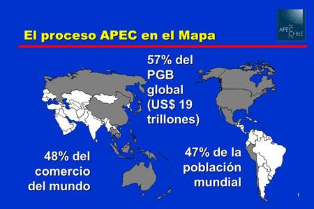 57% del PGB global (US$ 19 trillones)