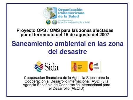 Estrategia De Viviendas Saludables Cooperación Financiera De La Agencia Sueca Para La Cooperación Al Desarrollo Internacional Asdi Y La Agencia Española Ppt Descargar