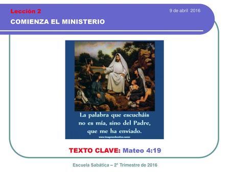Escuela Sabatica Segundo Trimestre 2015 Download