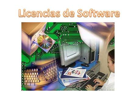 Licencias de Software.