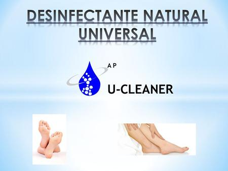 DESINFECTANTE NATURAL UNIVERSAL